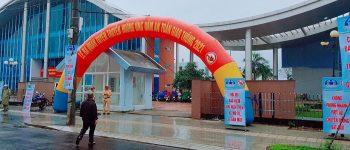 thiết kế cổng chào tại quảng ngãi